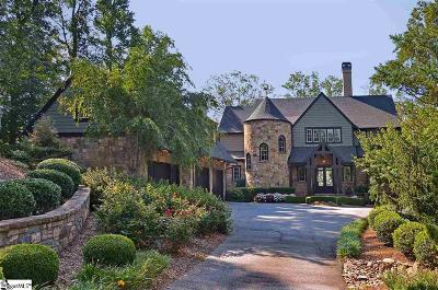 Travelers Rest SC Single Family Home For Sale: $1,095,000