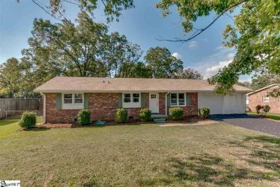 Inman Single Family Home For Sale: 3 Elmhurst