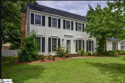 Taylors Single Family Home For Sale: 4 Walden