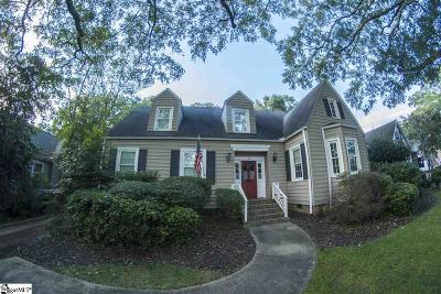Greenville County Single Family Home For Sale: 17 Woodvale