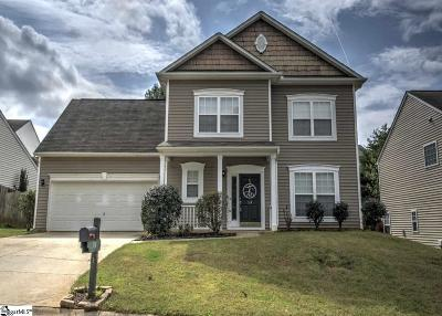 Greenville County Single Family Home For Sale: 314 Highgate