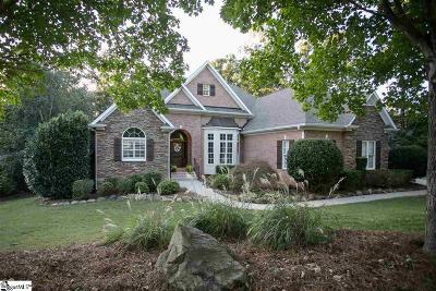Simpsonville Single Family Home For Sale: 605 Whetstone