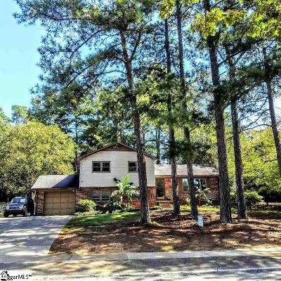 Simpsonville Single Family Home For Sale: 609 Neely Ferry