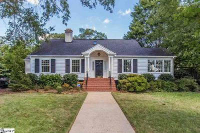 Greenville Single Family Home For Sale: 25 Highland