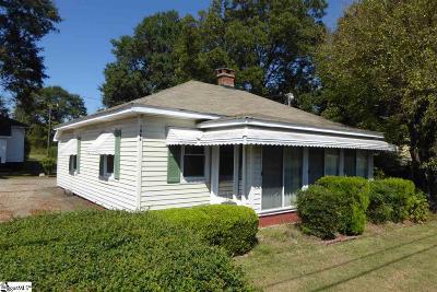 Spartanburg Single Family Home For Sale: 1086 Hayne