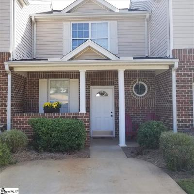 Greenville County Condo/Townhouse For Sale: 112 Marshland