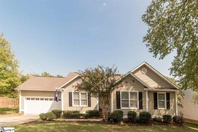 Fountain Inn Single Family Home Contingency Contract: 305 Flannery