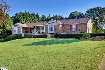 Anderson Single Family Home For Sale: 1212 Crestview