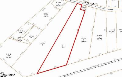 Spartanburg Residential Lots & Land For Sale: 527 Frey