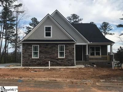 The Summit At Cherokee Valley Single Family Home For Sale: 105 Ryder Cup #Lot 141