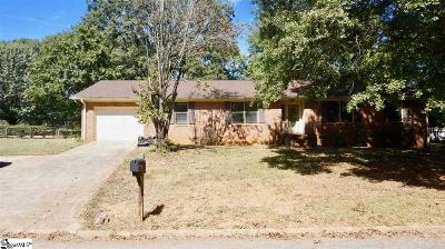 Mauldin Single Family Home Contingency Contract: 105 Libby