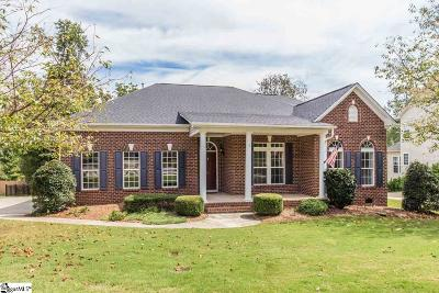 Greer Single Family Home For Sale: 216 Clarity