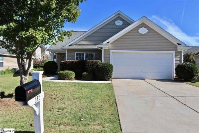 Boiling Springs Single Family Home Contingency Contract: 632 Branch View