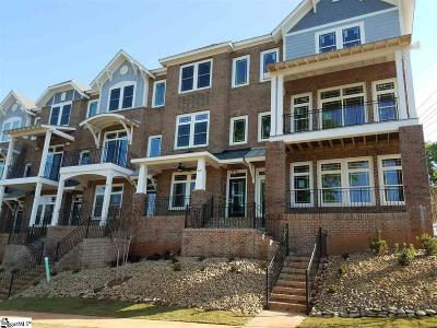 Greenville Condo/Townhouse For Sale: 202 Gibbs #Unit 14