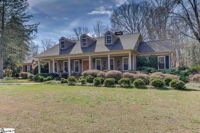 Anderson Single Family Home Contingency Contract: 112 Briar Creek