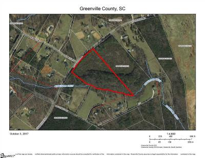 Greenville Residential Lots & Land For Sale: Tigerville