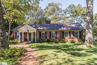 Greenville County Single Family Home Contingency Contract: 1745 N Main