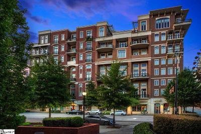 Greenville Condo/Townhouse For Sale: 111 E McBee #Unit 205