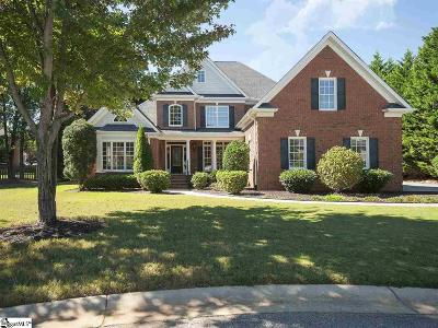 Simpsonville Single Family Home For Sale: 108 Red Branch