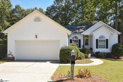 Simpsonville Single Family Home For Sale: 408 Windy Meadow