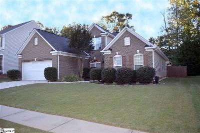 Greenville County Single Family Home Contingency Contract: 336 Amberleaf