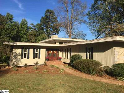 Greenville Single Family Home Contingency Contract: 30 Ashburn