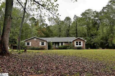 Greer Single Family Home For Sale: 636 Dean