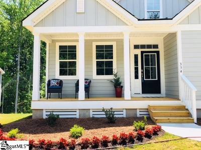 Redfearn Single Family Home For Sale: 334 Jonesville