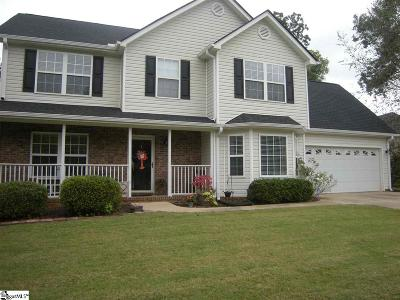 Greer Single Family Home For Sale: 351 Faye