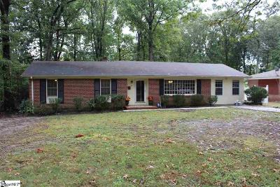 Taylors Single Family Home For Sale: 5 Bedford