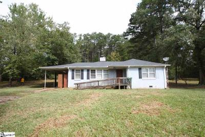 Greer Single Family Home For Sale: 2210 Gap Creek