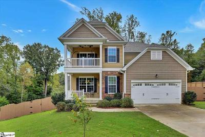 Greer Single Family Home Contingency Contract: 198 Chandler Crest