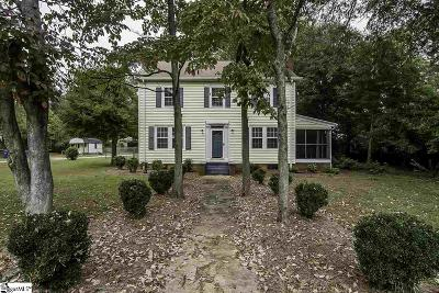 Spartanburg Single Family Home Contingency Contract: 1302 Montview