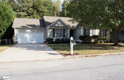 Fountain Inn Single Family Home Contingency Contract: 402 Frostberry