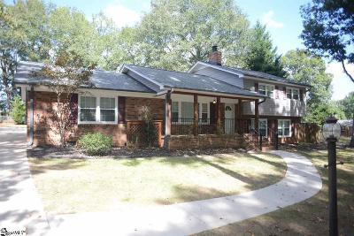 Taylors Single Family Home For Sale: 105 Drewry