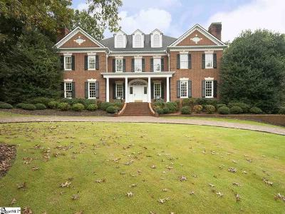 Greenville County Single Family Home Contingency Contract: 306 Thornblade