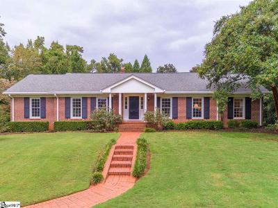 Greenville Single Family Home For Sale: 6 Barksdale