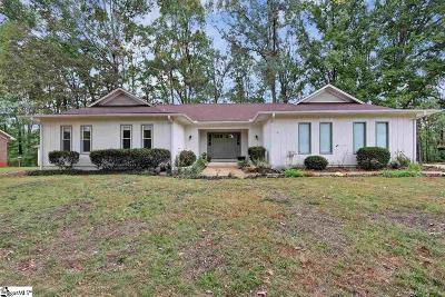 Greer Single Family Home Contingency Contract: 312 Lakewood