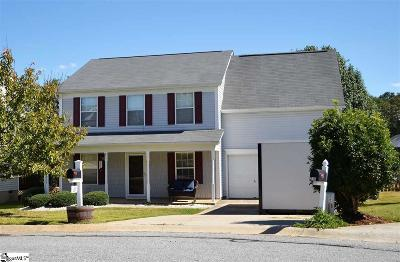 Simpsonville Single Family Home For Sale: 217 Morell