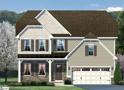 Greer Single Family Home For Sale: 345 Bucklebury