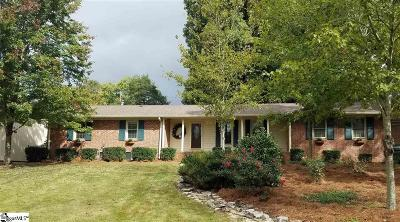 Mauldin Single Family Home Contingency Contract: 105 Brookbend