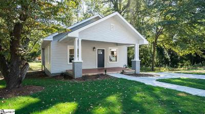 Greenville Single Family Home Contingency Contract: 13 Sullivan