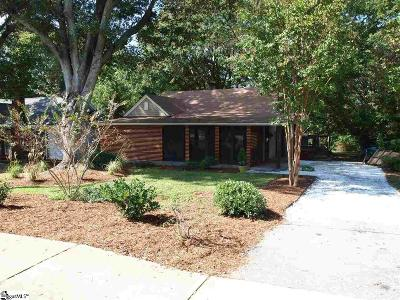 Greenville Single Family Home Contingency Contract: 114 Rice