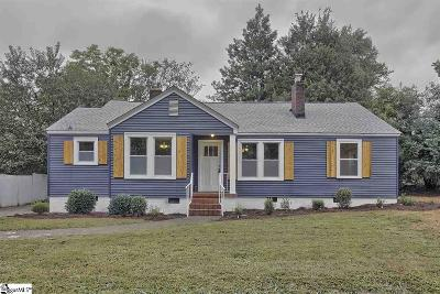 Greenville Single Family Home Contingency Contract: 509 Darlington