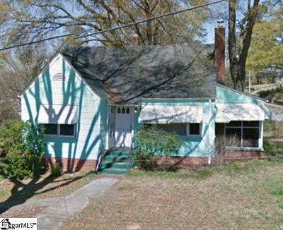 Greenville Single Family Home Contingency Contract: 23 Charlotte