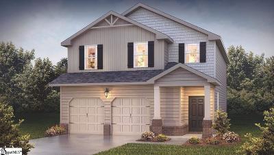 Greer Single Family Home For Sale: 190 Heatherwood