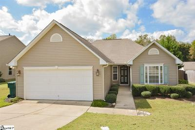 Simpsonville Single Family Home For Sale: 209 Gibby