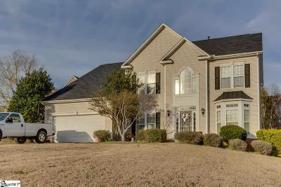 Simpsonville Single Family Home For Sale: 10 Silverthorn