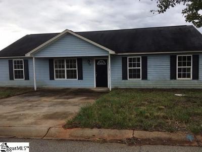 Piedmont Single Family Home For Sale: 100 Labonte