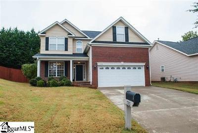 Spartanburg Single Family Home For Sale: 770 Kingswood